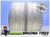 2 MICHELIN PREMIER A/S 235/55/18 USED TIRES 6.3/32 RMNG MERCEDES GLK 100V 2355518