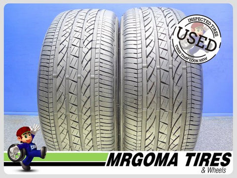 2 BRIDGESTONE DUELER HP SPORT AS RFT XL 245/50/19 USED TIRES 8.2/32 RMNG 2455019
