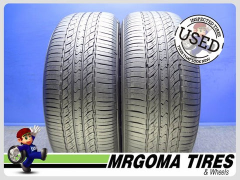 2 PIRELLI SCORPION VERDE AS MO 255/50/19 USED TIRES 7.6/32 RMNG MERCEDES 2555019