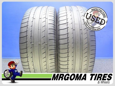 2 MICHELIN LATITUDE SPORT AO 255/45/20 USED TIRES 6.1/32 RMNG NO PATCH 101W 2554520