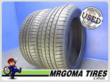 2 GOODYEAR EAGLE SPORT A/S RFT 225/50/18 USED TIRES 10/32 RMNG BMW 95V 2255018
