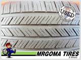 2 GOODYEAR EAGLE LS2 AO 235/55/19 USED TIRES 8.0/32 RMNG PORSCHE MACAN 2355519