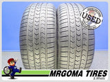 2 GOODYEAR EAGLE SPORT A/S RFT 225/50/18 USED TIRES 10.0/32 RMNG BMW 95V 2255018