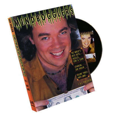 Mindbogglers vol 3 by Dan Harlan - DVD