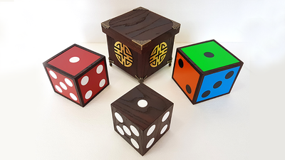 Color Changing Dice (4 Wooden Die) - Trick