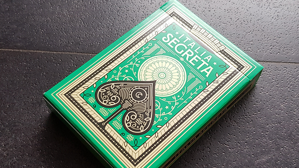 Italia Segreta Playing Cards by Thirdway Industries