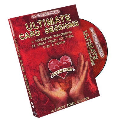 Ultimate Card Sessions - Volume 3 - Ultimate Poker Edition - DVD