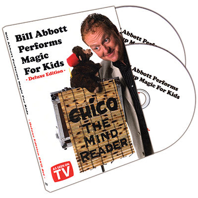 Bill Abbott Performs Magic For Kids Deluxe 2 DVD Set by Bill Abbott - DVD