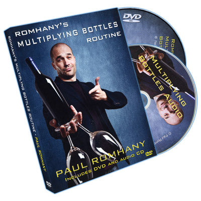 Romhany's Multiplying Bottle Routine by Paul Romhany - DVD