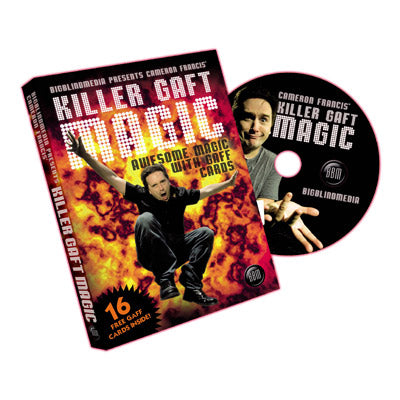 Killer Gaft Magic by Cameron Francis and Big Blind Media - DVD