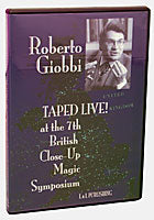Roberto Giobbi Taped Live, DVD