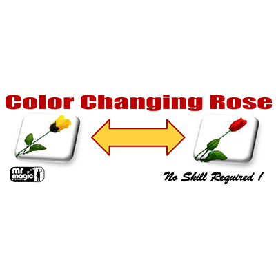 Color Changing Rose by Mr. Magic - Trick