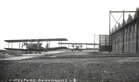 Handley Page Hyderabad bombers, 1928