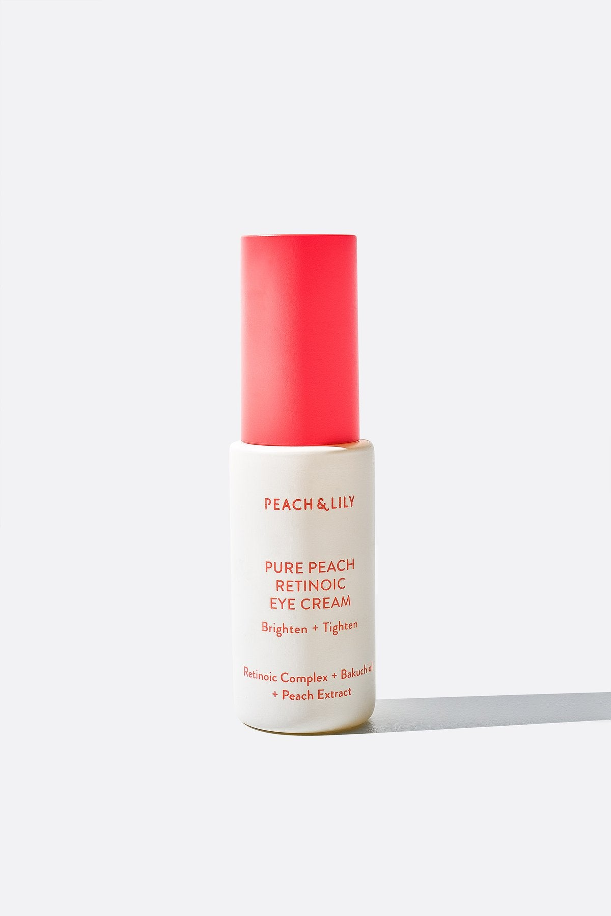Peach & Lily Pure Peach Retinoic Eye Cream (20ml). Worldwide Shipping - Singapore, Malaysia, Brunei, Philippines, Indonesia, India, Australia, Hong Kong, USA, UAE, Europe!