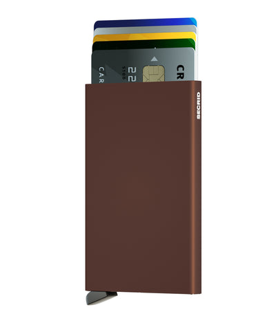 Secrid Cardprotector (Brown) - Plus Minus | Singapore & Malaysia