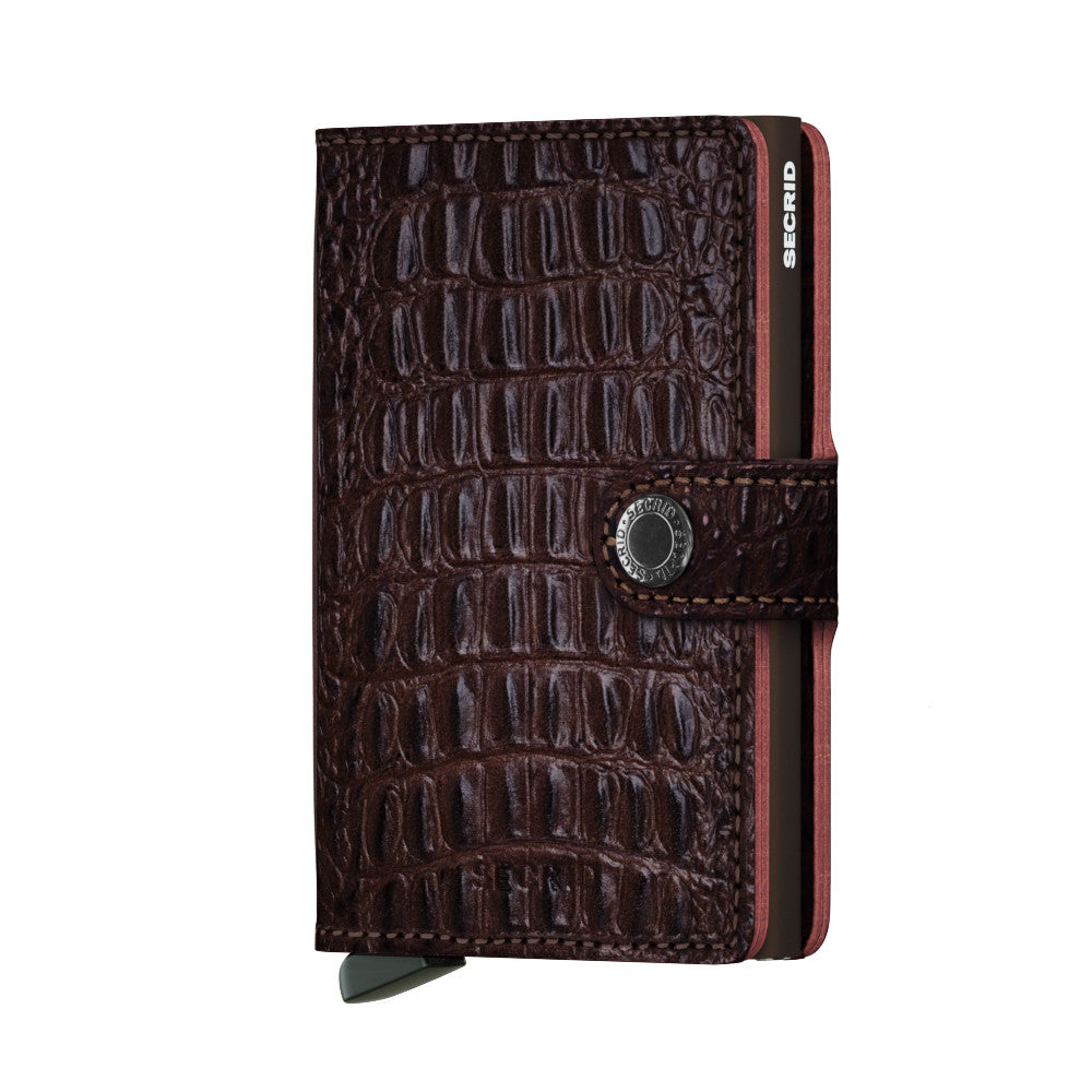 Secrid Miniwallet (Nile Brown). Worldwide Free Shipping - Singapore, Malaysia, Brunei, Indonesia, Hong Kong, USA, Europe!