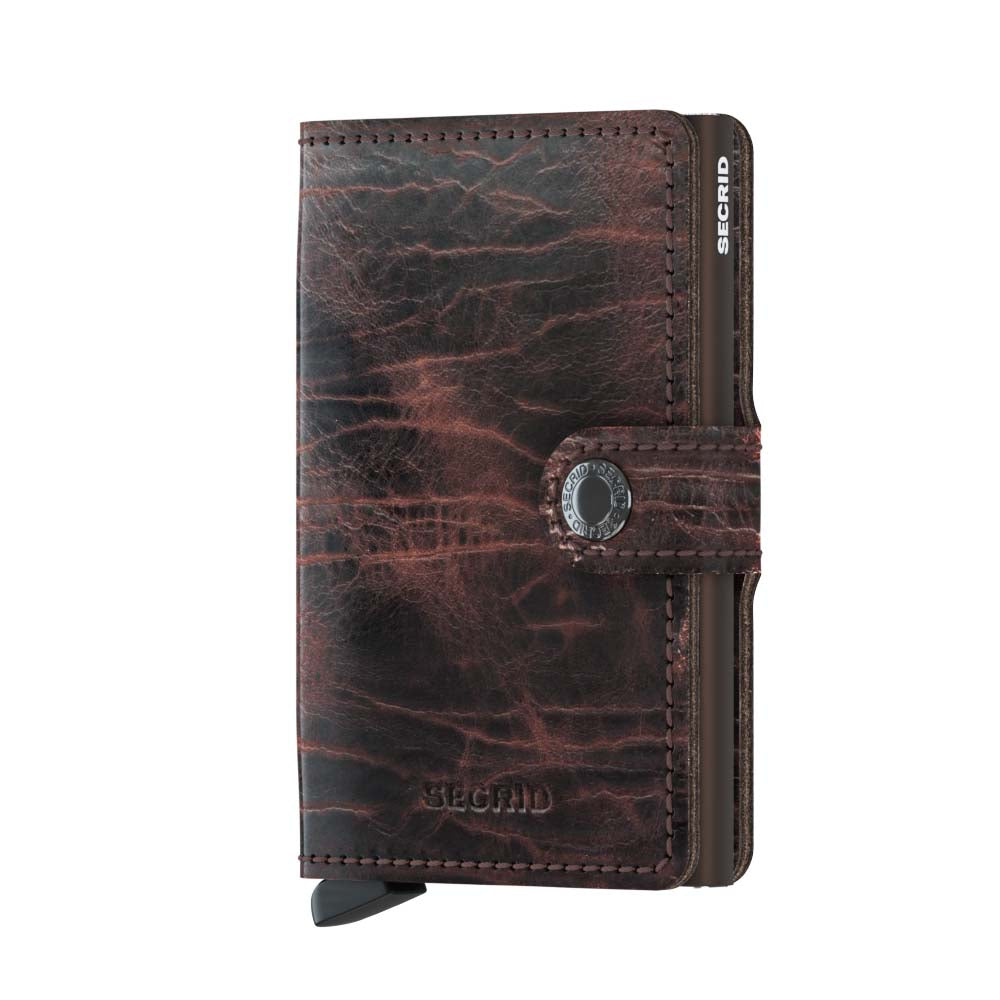 Secrid Miniwallet (Dutch Martin Cacao). Worldwide Free Shipping - Singapore, Malaysia, Brunei, Indonesia, Hong Kong, USA, Europe!