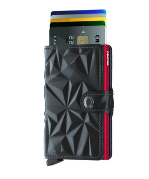 Secrid Miniwallet (Prism Black Red). Worldwide Free Shipping - Singapore, Malaysia, Brunei, Indonesia, Hong Kong, USA, Europe!
