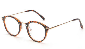 August Glasses - Leopard - Plus Minus