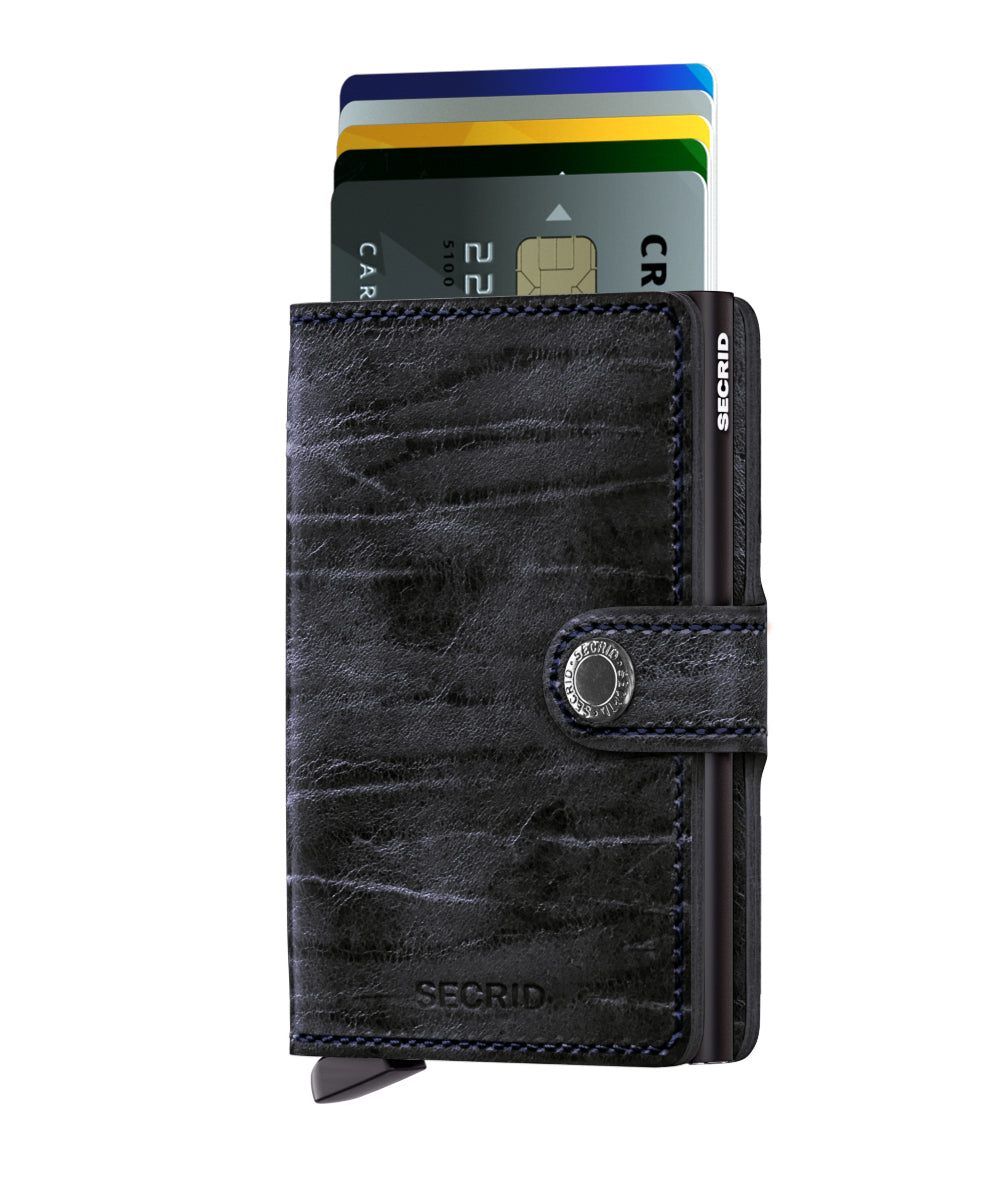 Secrid Miniwallet (Dutch Martin Nightblue) - Plus Minus
