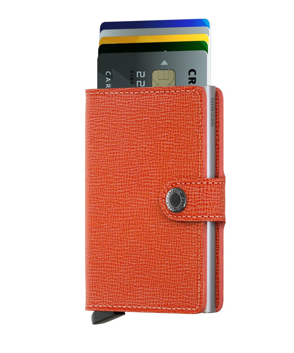 Secrid Secrid Miniwallet (Crisple Orange). Worldwide Free Shipping - Singapore, Malaysia, Brunei, Indonesia, Hong Kong, USA, Europe!