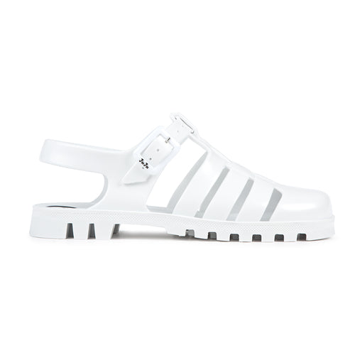 JUJU Maxi Sandals (White) - Plus Minus