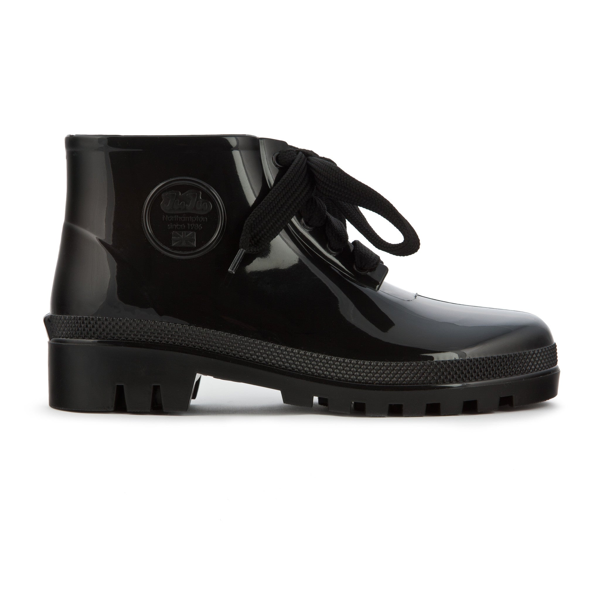 JuJu Jellyboots (Black) - Plus Minus