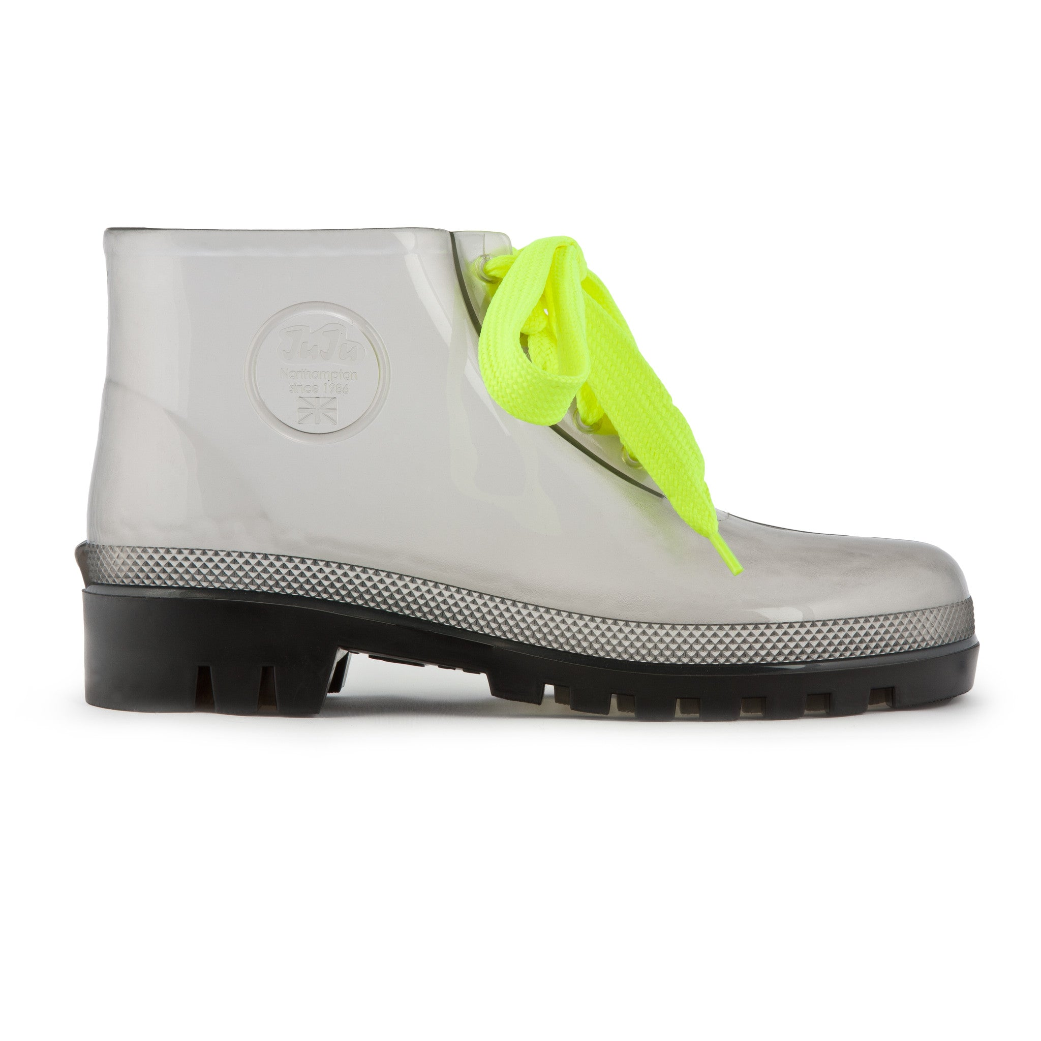 JuJu Jellyboots (Smoke Grey) - Plus Minus