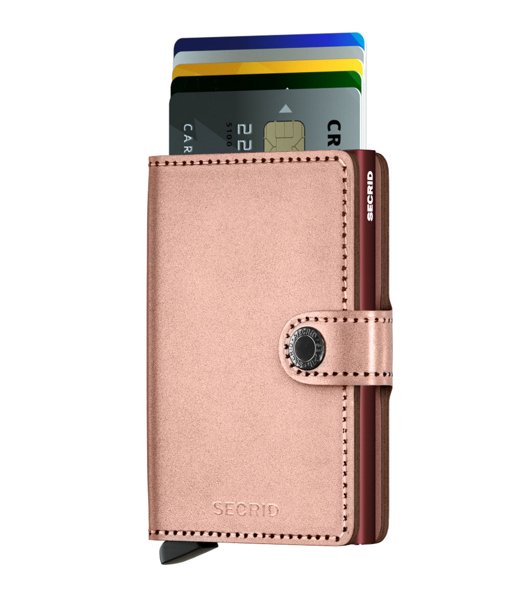 Secrid Miniwallet (Metallic Rose)