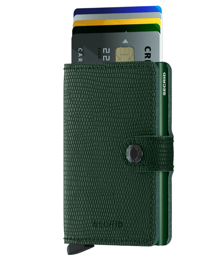 Secrid Miniwallet (Rango Green). Worldwide Free Shipping - Singapore, Malaysia, Brunei, Indonesia, Hong Kong, USA, Europe!