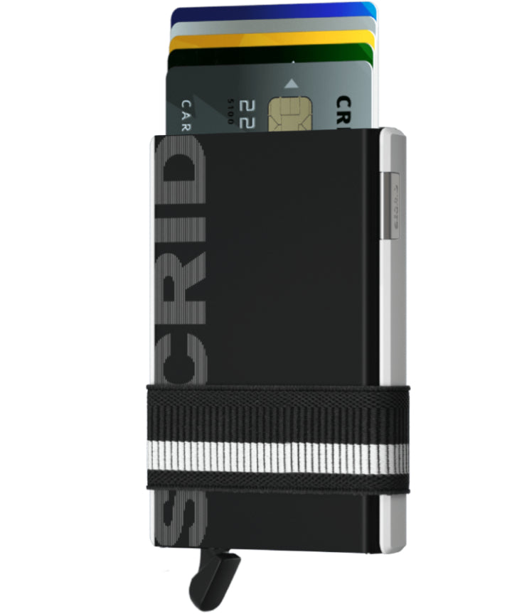 Secrid Cardslide Monochrome. Worldwide Free Shipping - Singapore, Malaysia, Brunei, Indonesia, Hong Kong, USA, Europe!