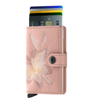 Secrid Miniwallet (Stitch Magnolia Rose)