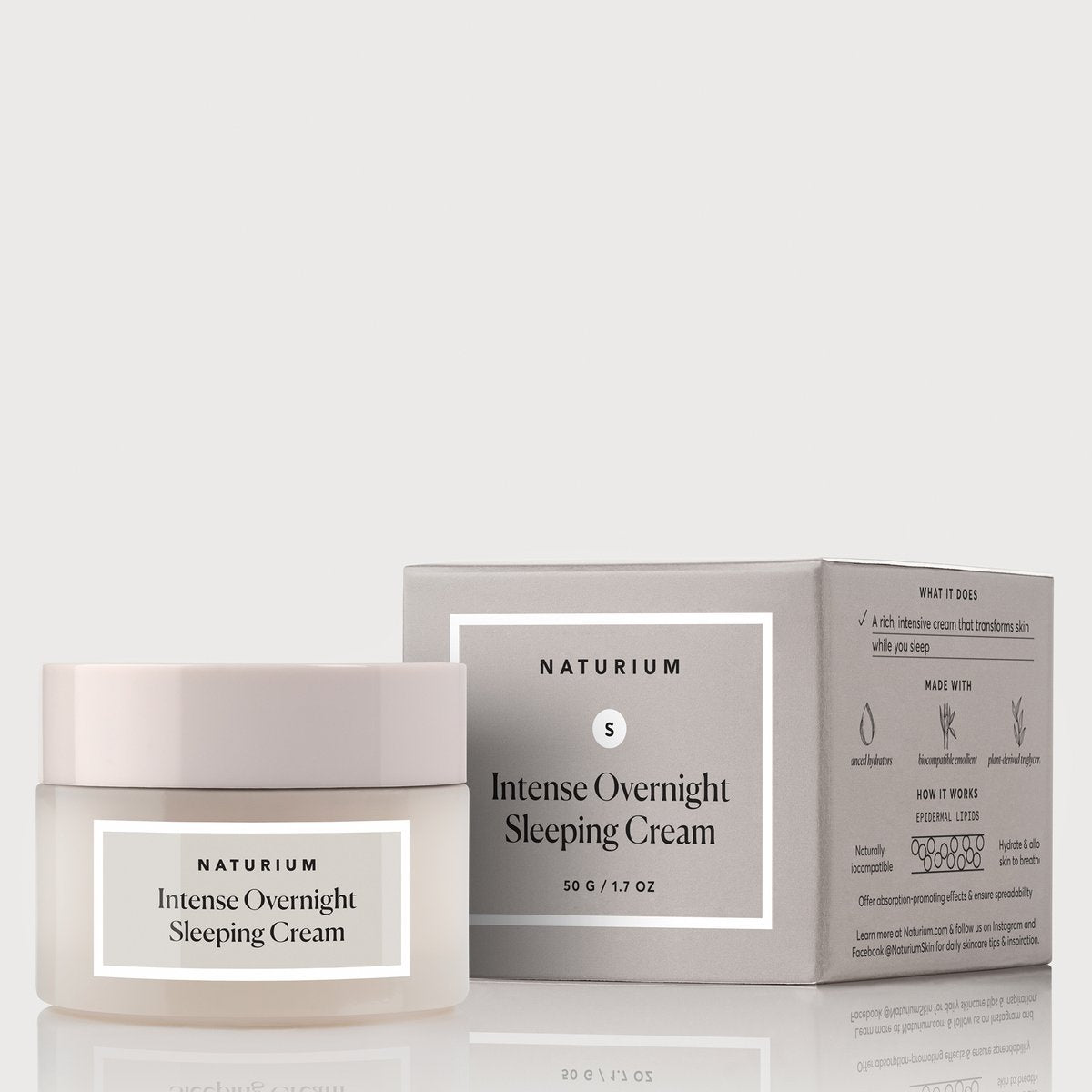 Naturium Intense Overnight Sleeping Cream. Worldwide Shipping - Singapore, Malaysia, Brunei, Philippines, Indonesia, India, Australia, Hong Kong, USA, Europe!