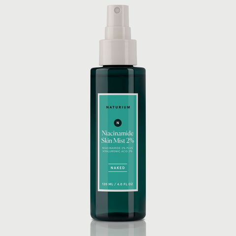 Naturium Niacinamide Skin Mist 2% Naked (120ml). Worldwide Shipping - Singapore, Malaysia, Brunei, Philippines, Indonesia, India, Australia, Hong Kong, UK, USA, UK, Europe!