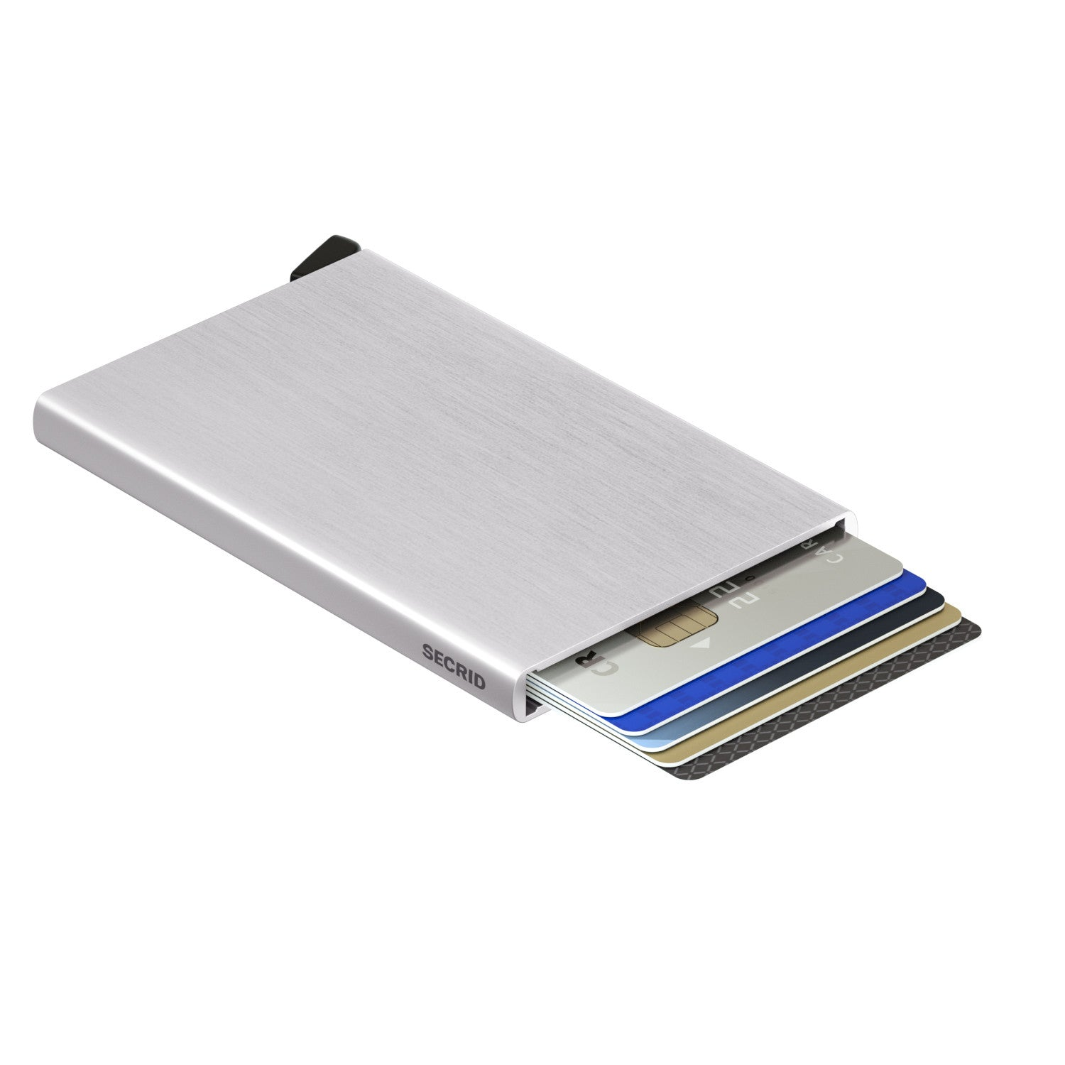 Secrid Cardprotector (Silver Brushed) - Plus Minus