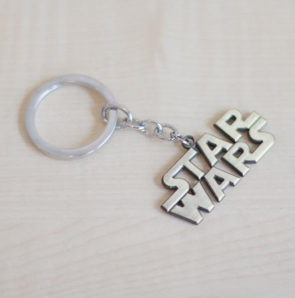 Star Wars Keychain ( Silver or Brass ) - Plus Minus