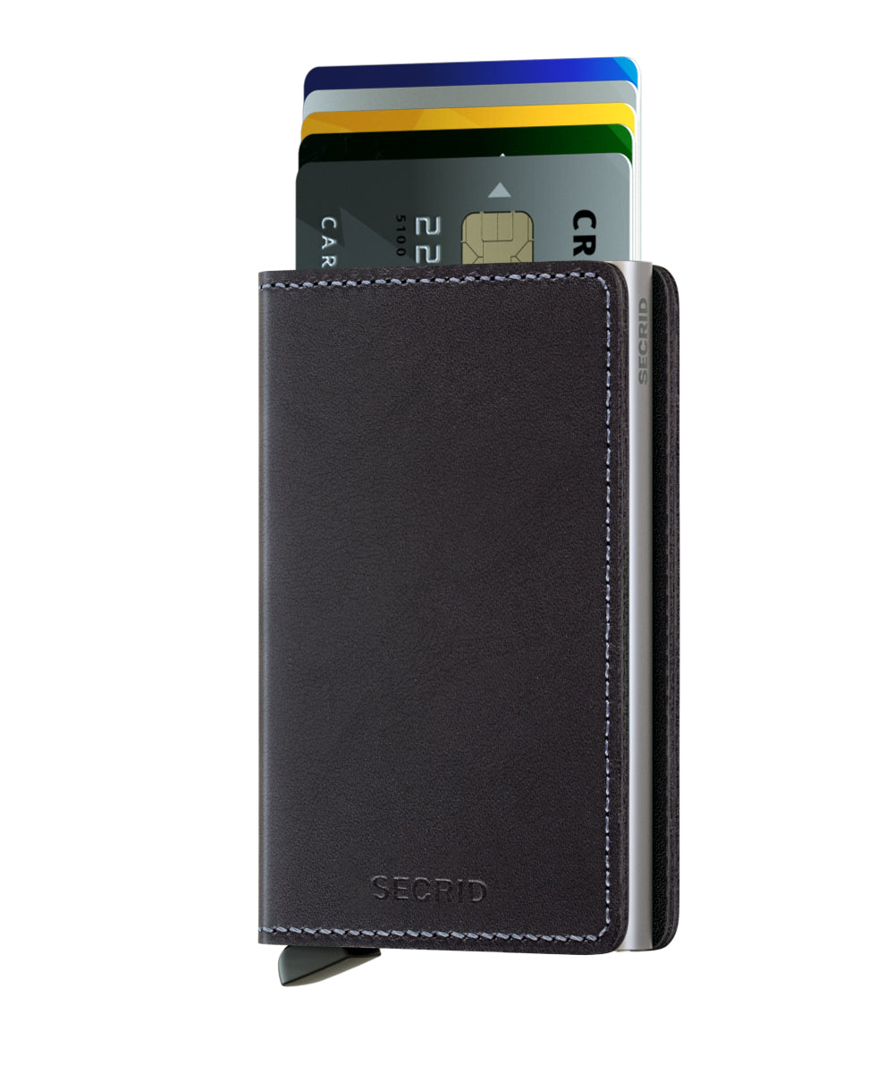 Secrid Slimwallet (Original Black) - Plus Minus