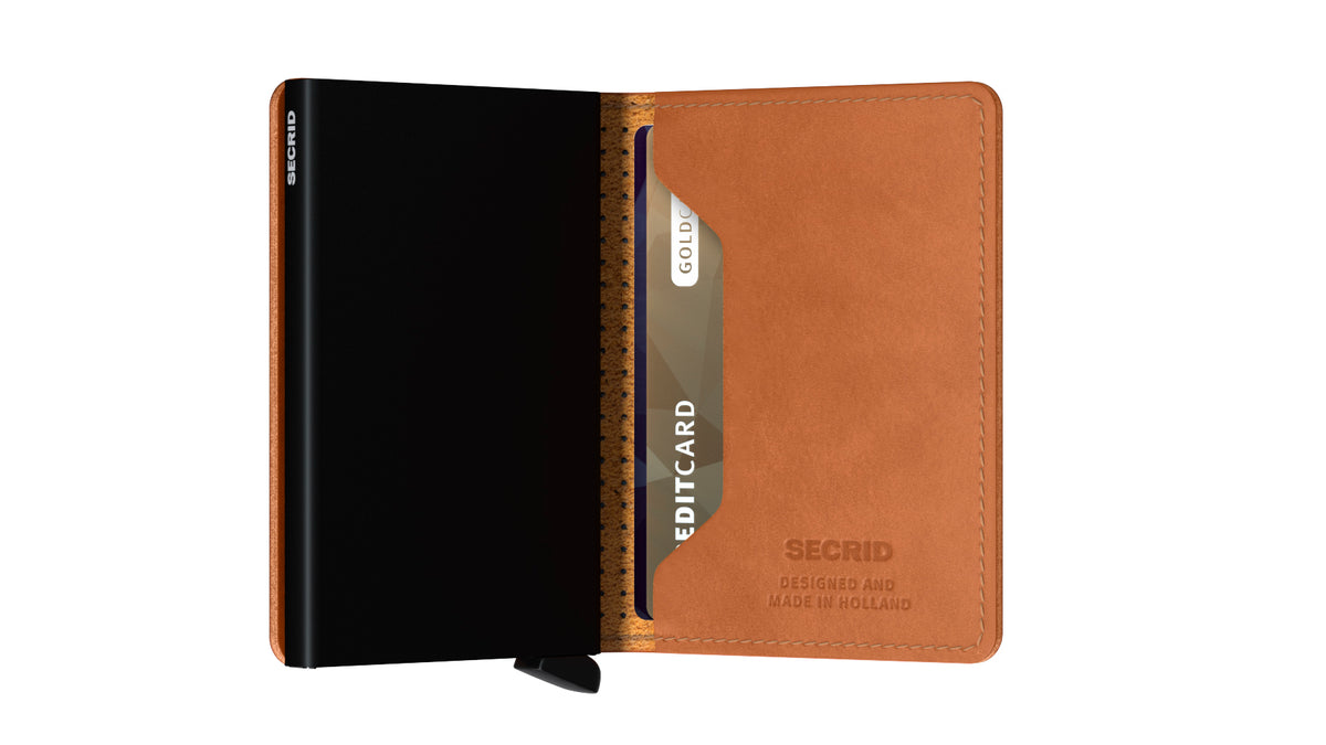Secrid Slimwallet (Perforated Cognac)