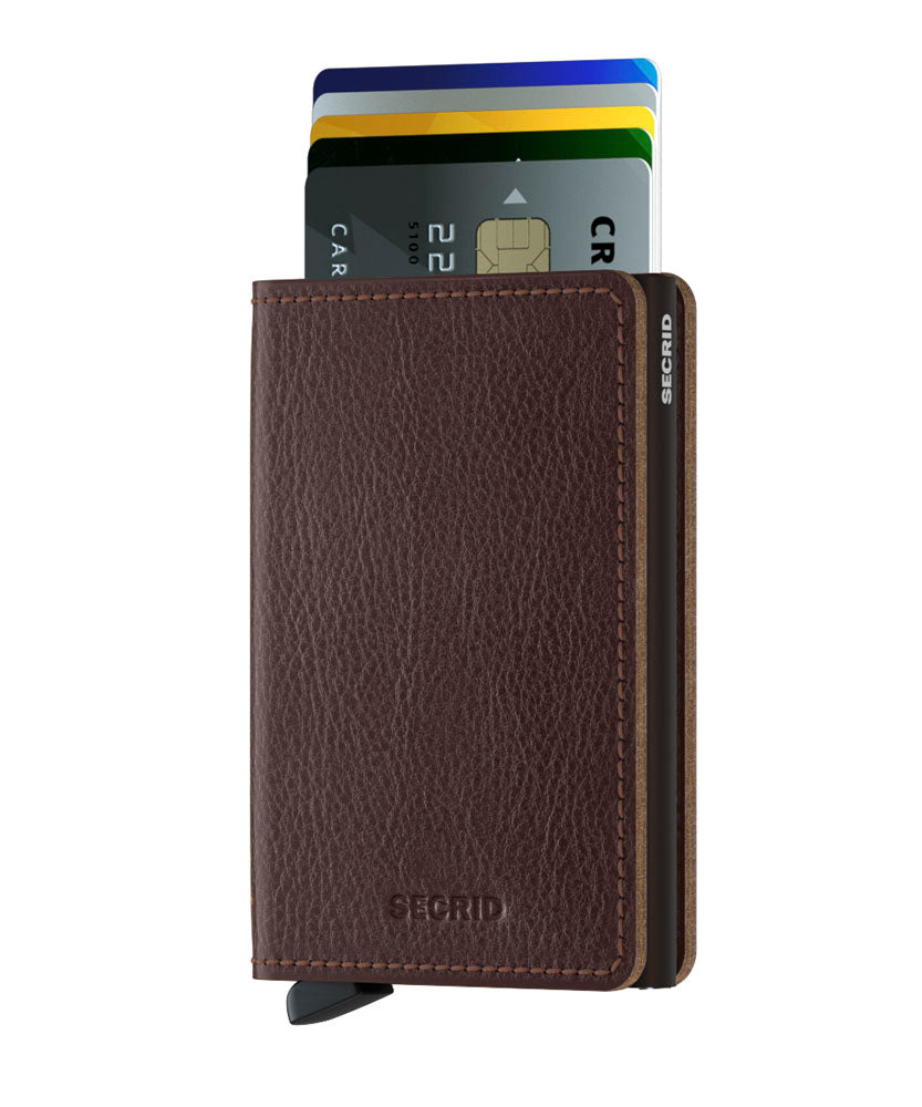 Secrid Slimwallet (Vegetable Tanned Espresso)