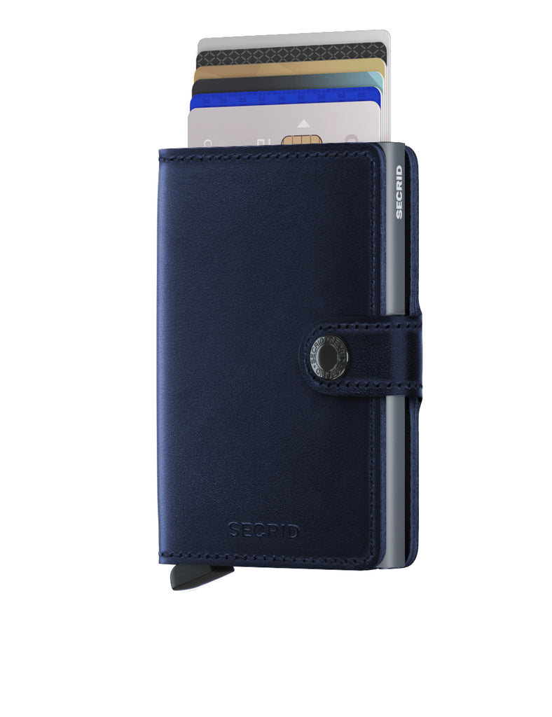Secrid Miniwallet (Polished Navy)
