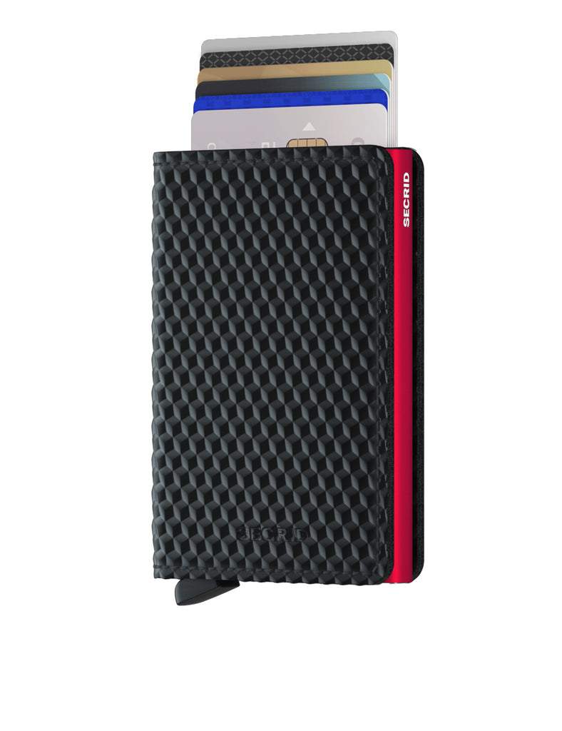 Secrid Slimwallet (Cubic Black Red)