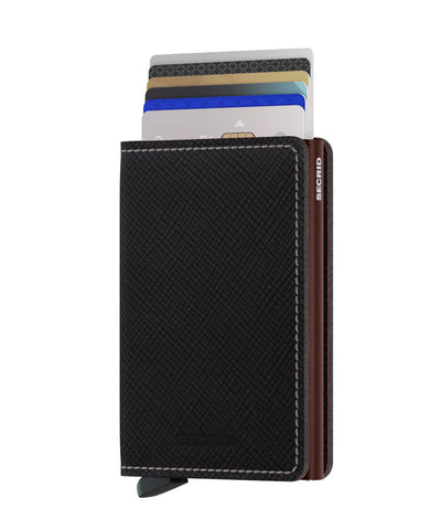 Secrid Slimwallet (Saffiano Brown)