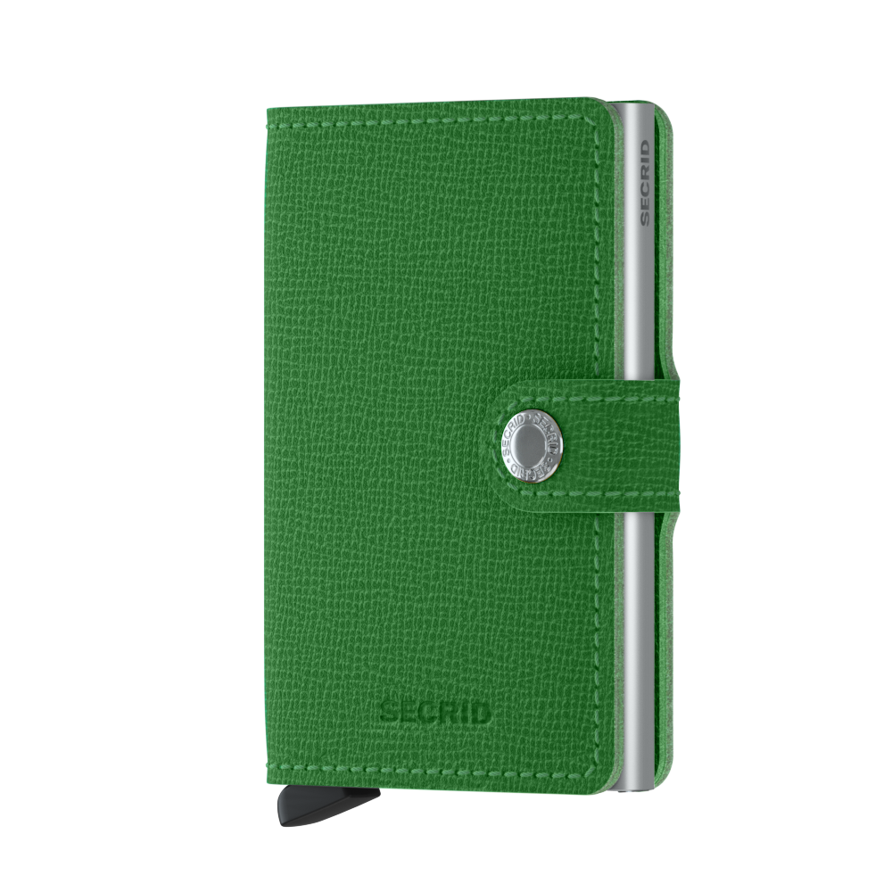 Secrid Miniwallet (Crisple Light Green). Worldwide Free Shipping - Singapore, Malaysia, Brunei, Indonesia, Hong Kong, USA, Europe!