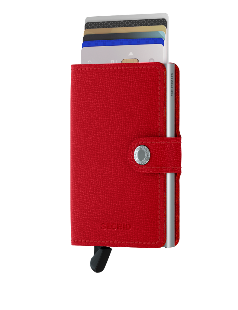 Secrid Miniwallet (Crisple Red)