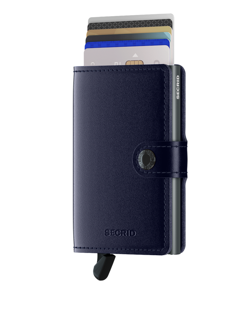 Secrid Miniwallet (Metallic Blue)