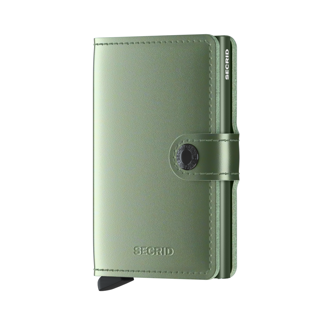 Secrid Miniwallet (Metallic Green)