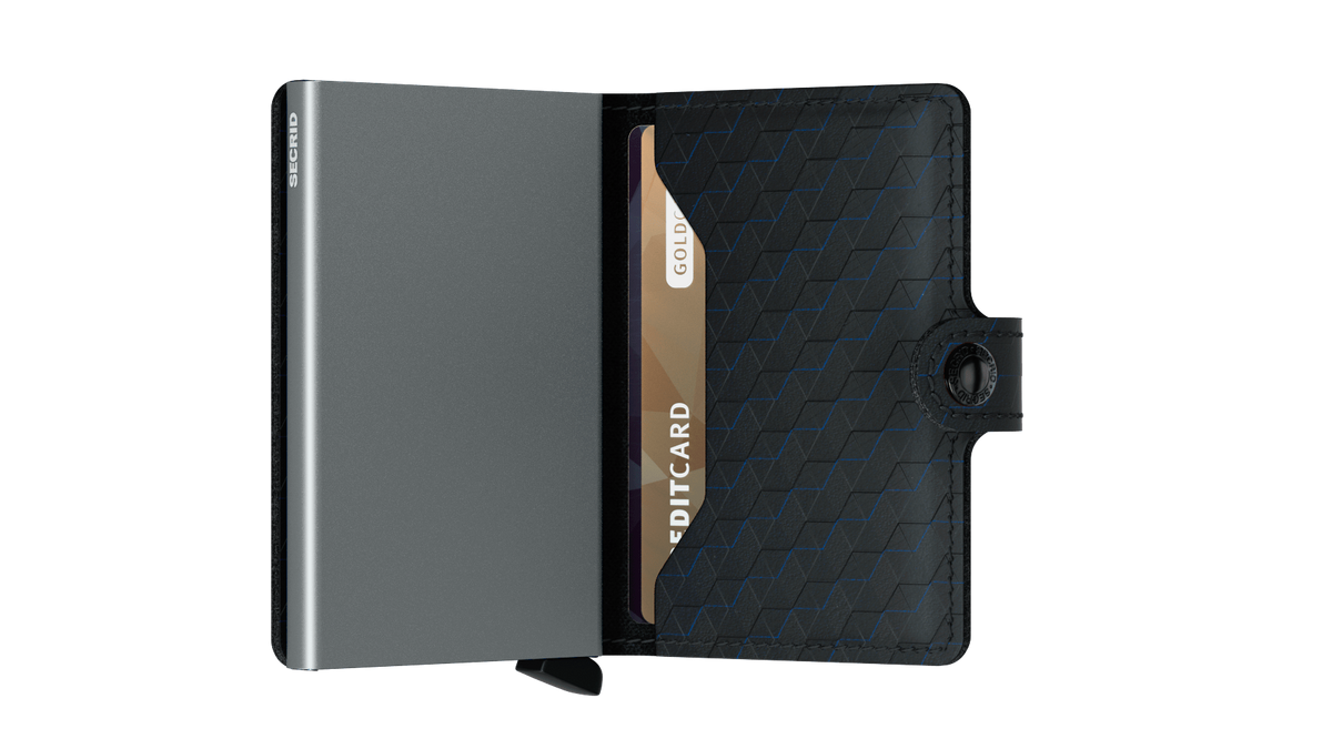 Secrid Miniwallet (Optical Black Titanium). Worldwide Free Shipping - Singapore, Malaysia, Brunei, Indonesia, Hong Kong, USA, Europe!