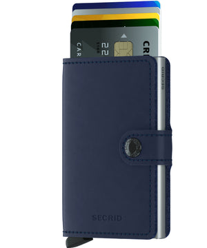 Secrid Miniwallet (Original Navy). Worldwide Free Shipping - Singapore, Malaysia, Brunei, Indonesia, Hong Kong, USA, Europe!