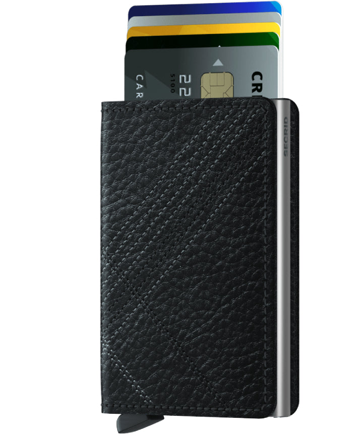 Secrid Slimwallet (Stitch Linea Black)