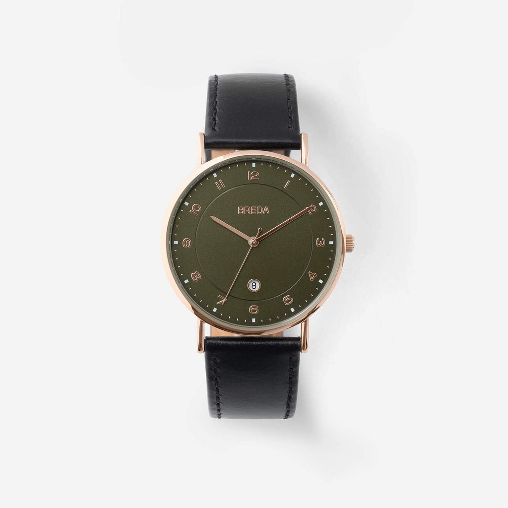 Breda Pei (Rose Gold / Black / Moss)